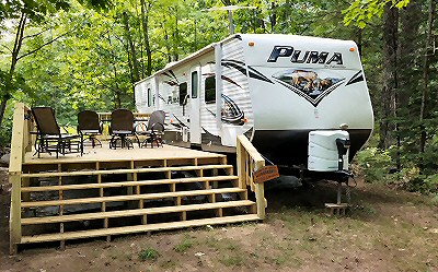 Moen Lake Campground Rhinelander Wisconsin